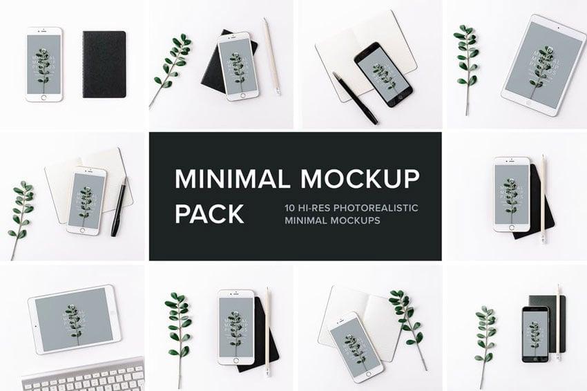 Minimal Mockup Pack Photorealistic