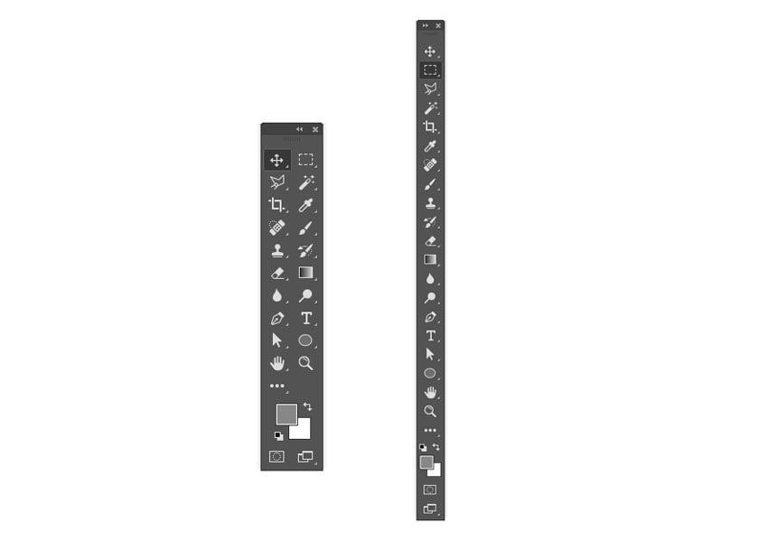Toolbar Adobe Photoshop