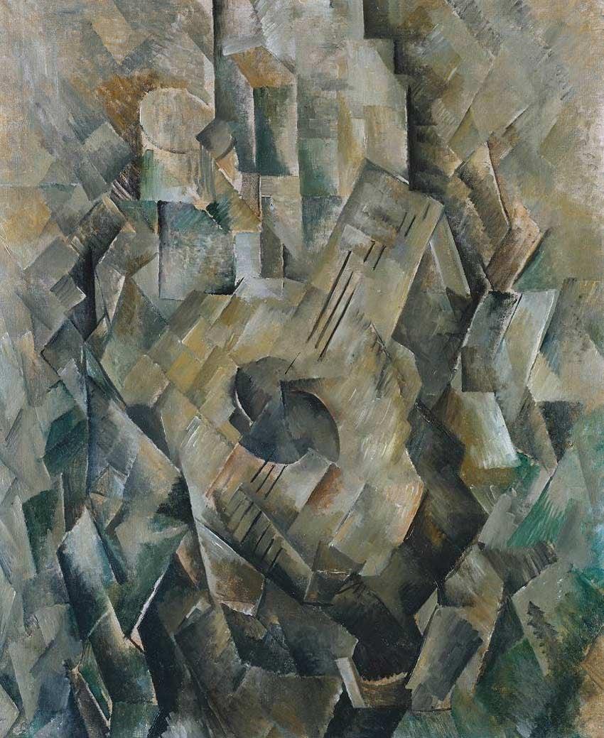 La guitare by Georges Braque