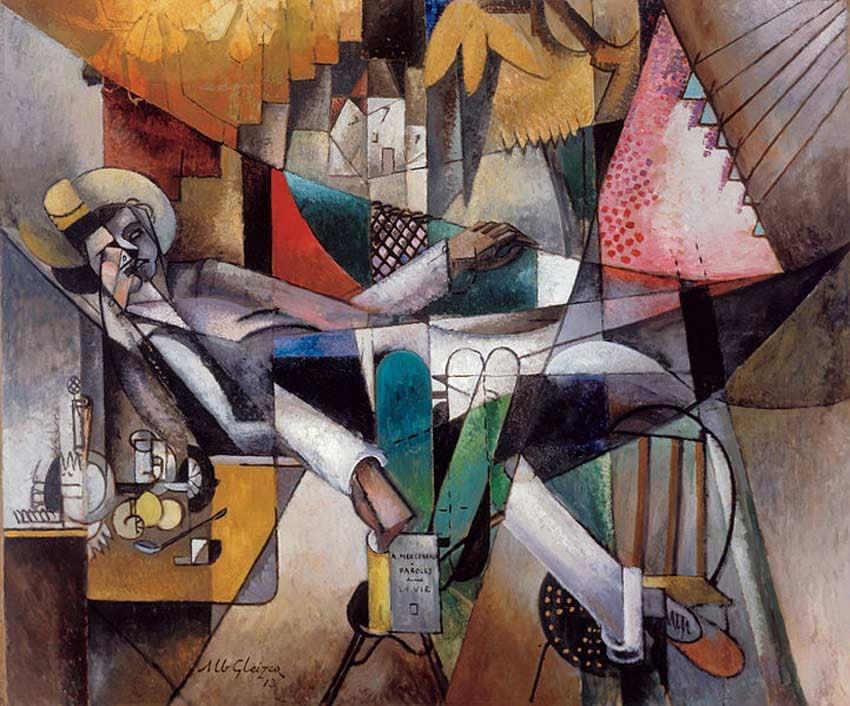 Man in a Hammock by Albert Gleizes