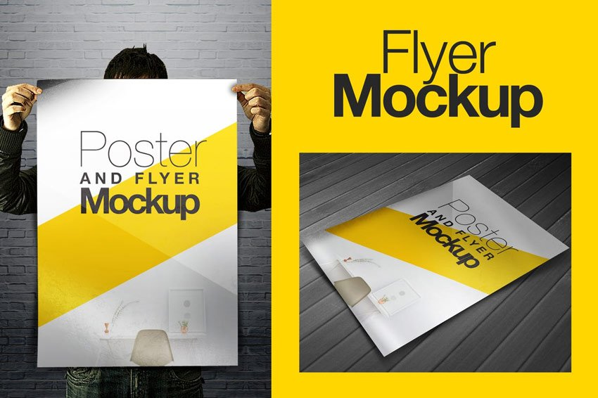 Poster and Flyer Mockup