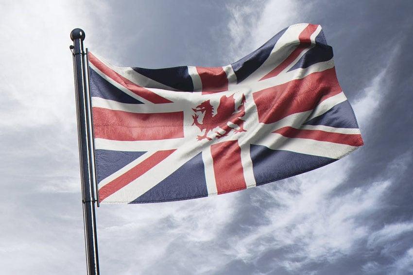 11 Photorealistic Flag Mock Ups