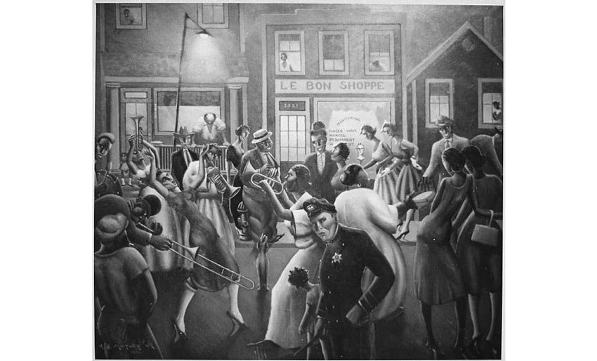 Getting Religion by Archibald Motley