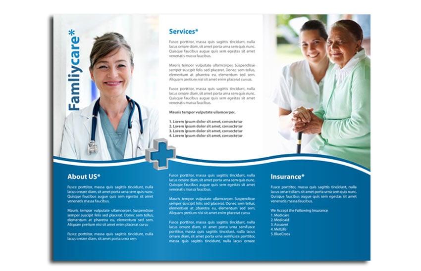 Medical Trifold Brochure