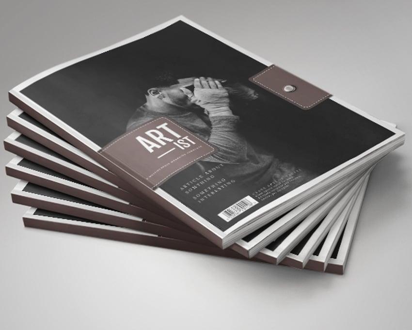 Artist Magazine Template V2