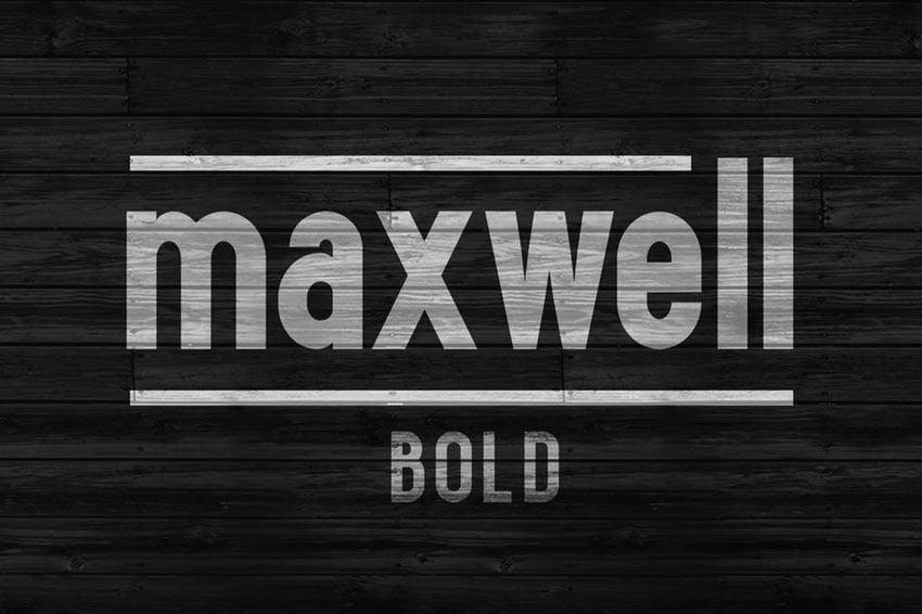 Maxwell Sans Bold