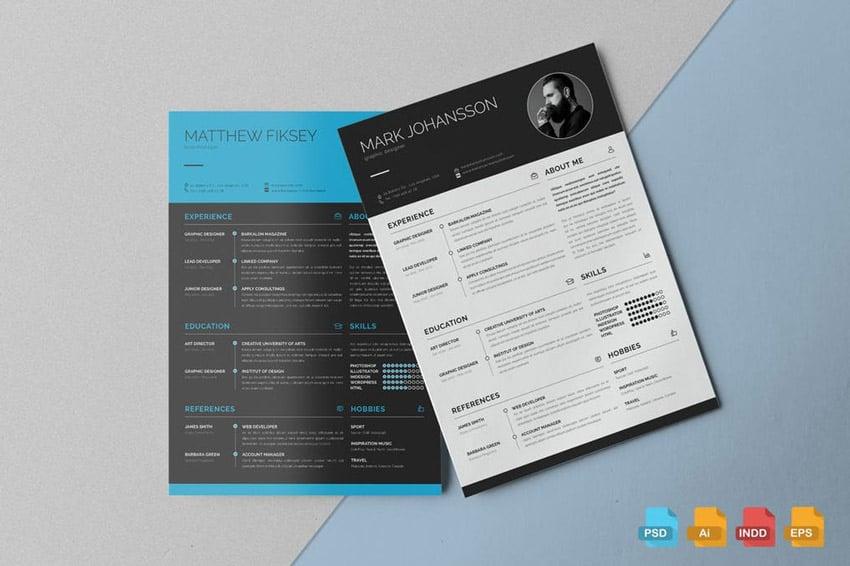 Clean Resume Template Vol1