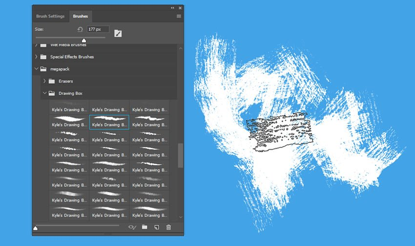 Importing Brushes in Photoshop CC