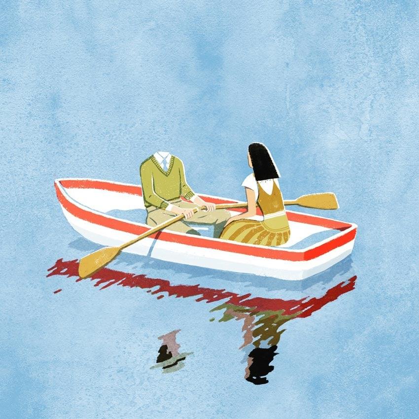 Boating by Yifan Wu