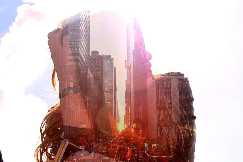 How to Create a Double Exposure Action in Adobe Photoshop