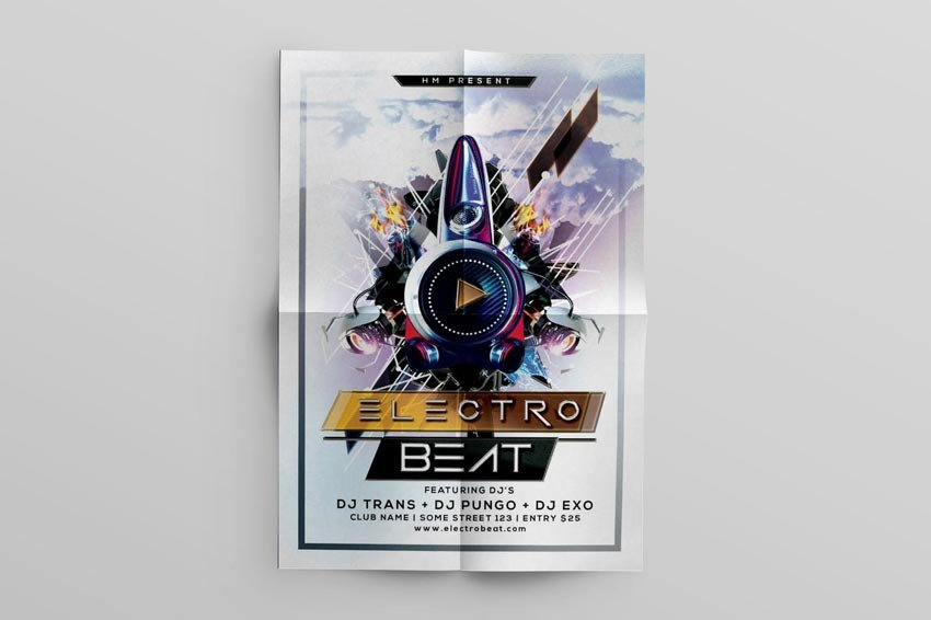 Electro Beat Music Flyer