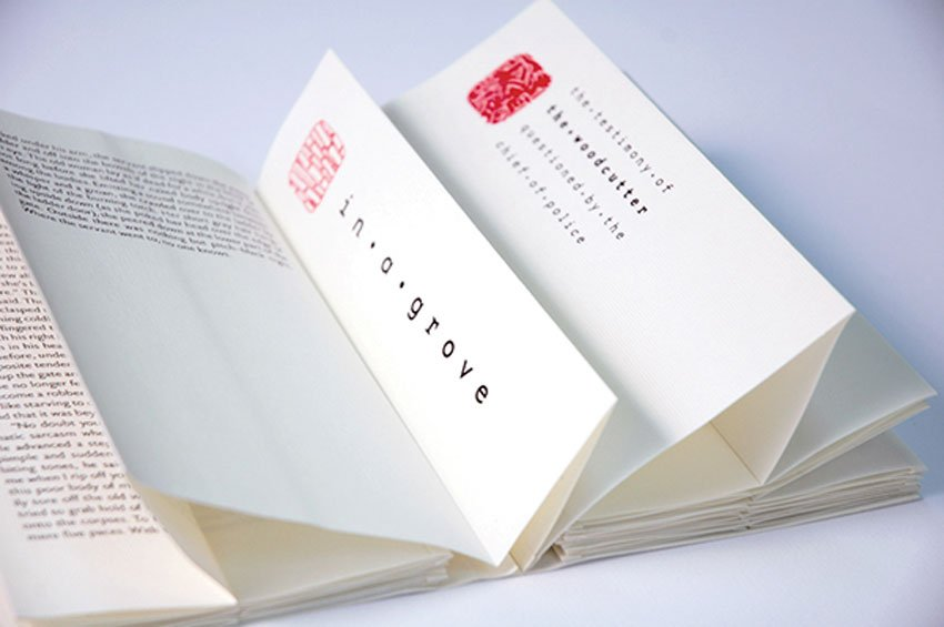 Rashomon Book Design by Franka Tretinjak