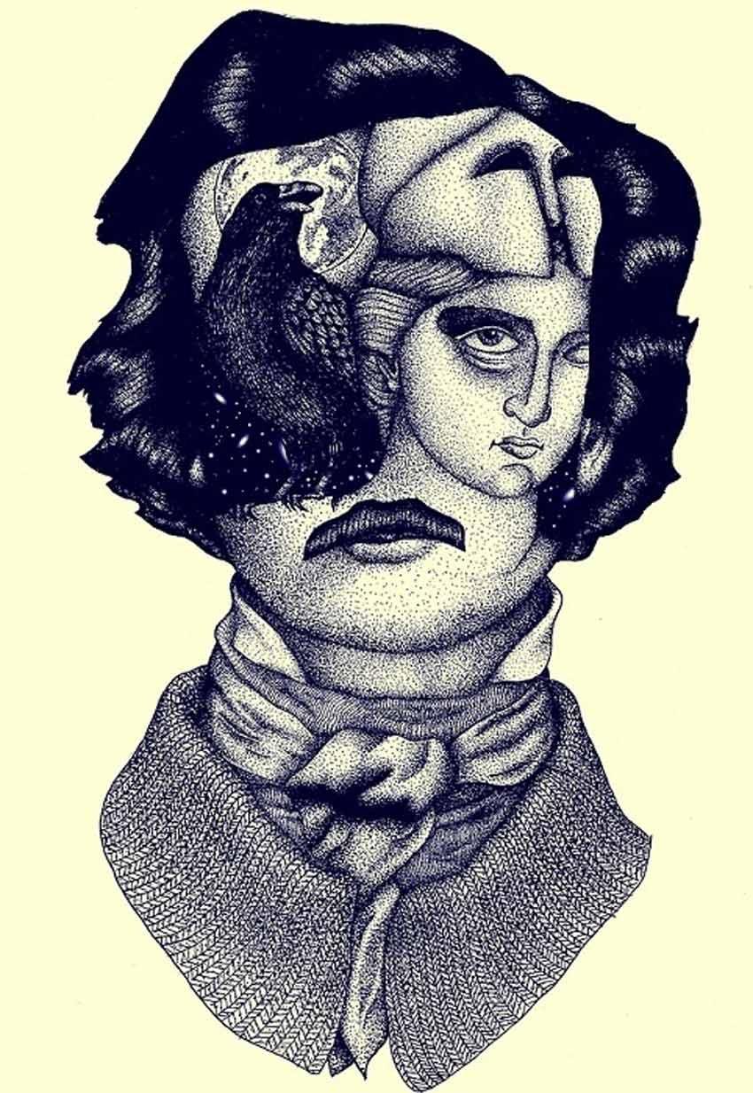 Edgar Allan Poe by Vedran Stimac