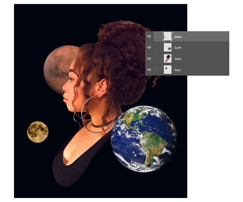 Add the planets