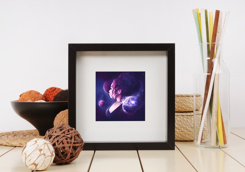Frame Mockup from Envato Elements
