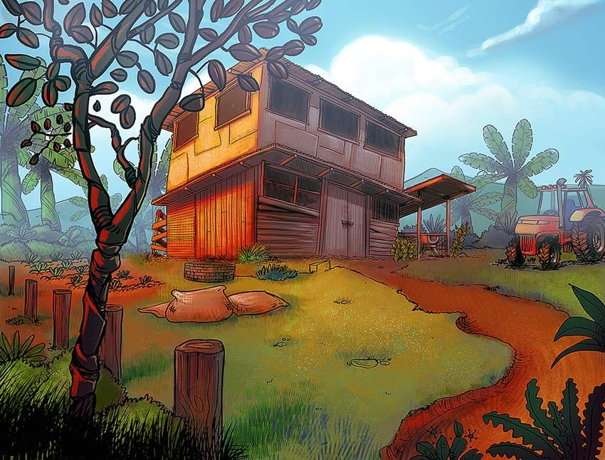 Animation Backgrounds and Props
