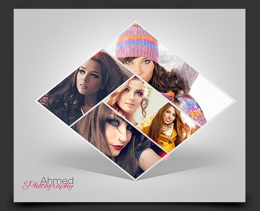 Diamond Photo Collage V01