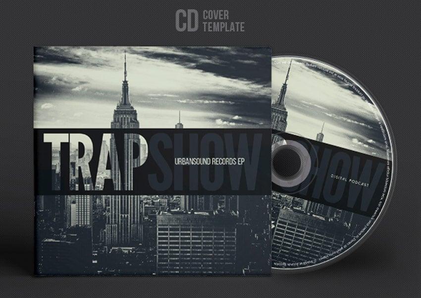 Trap Show - CD Cover Artwork Template