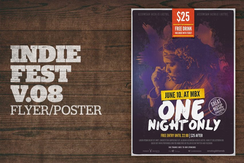 Indie Festival Poster