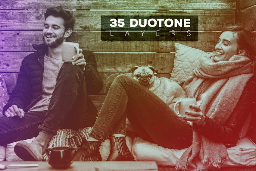 35 Duotone Effects