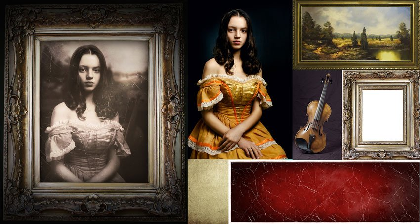 Before and After Photo Manipulation