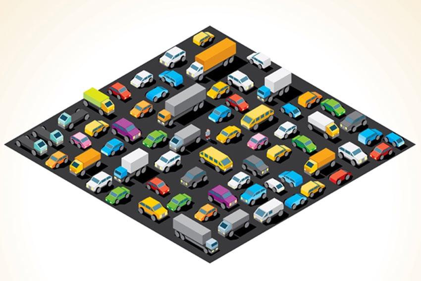 Isometric Car Parking