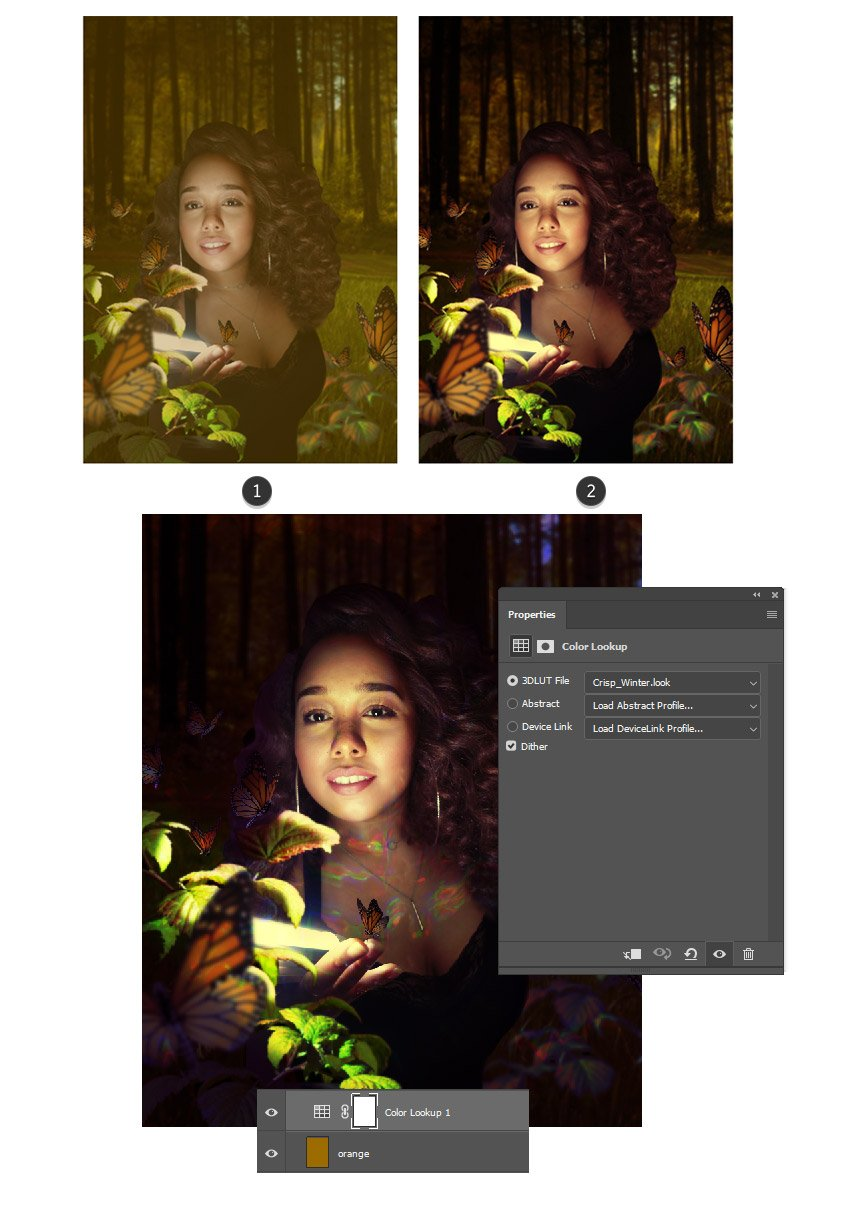 Add fill and color lookup