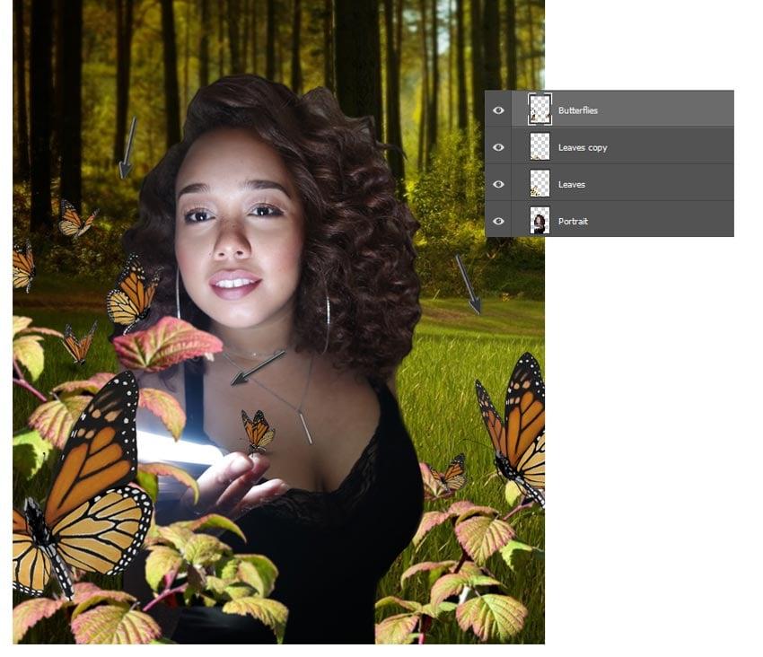 Add more butterflies