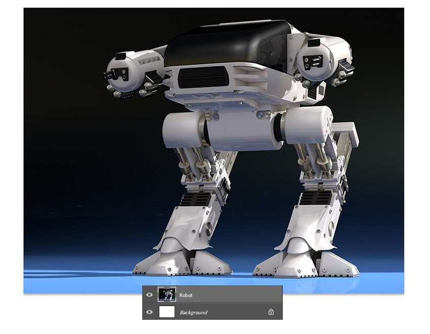 Add the robot