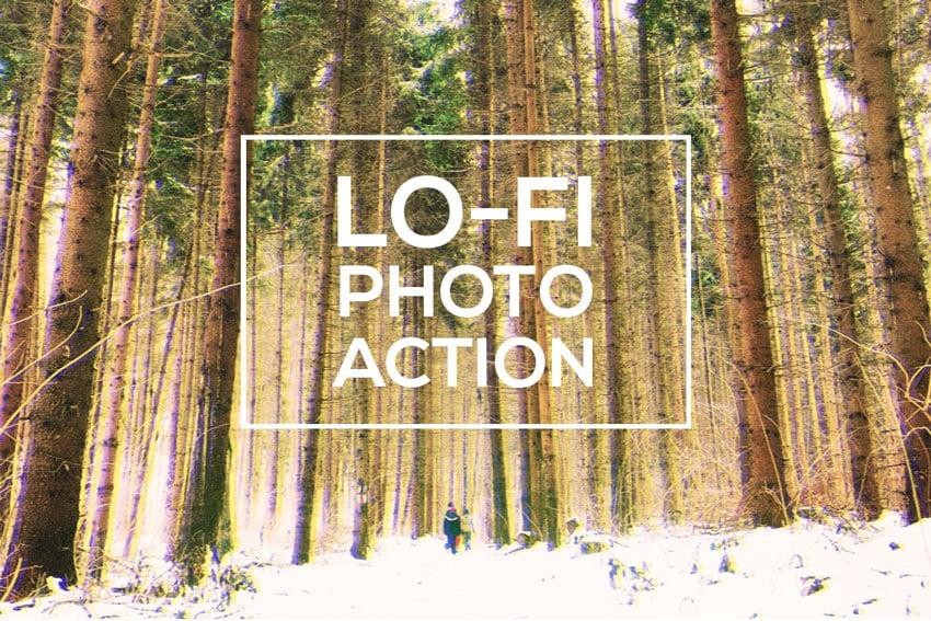 Lo-Fi Retro Pics Action