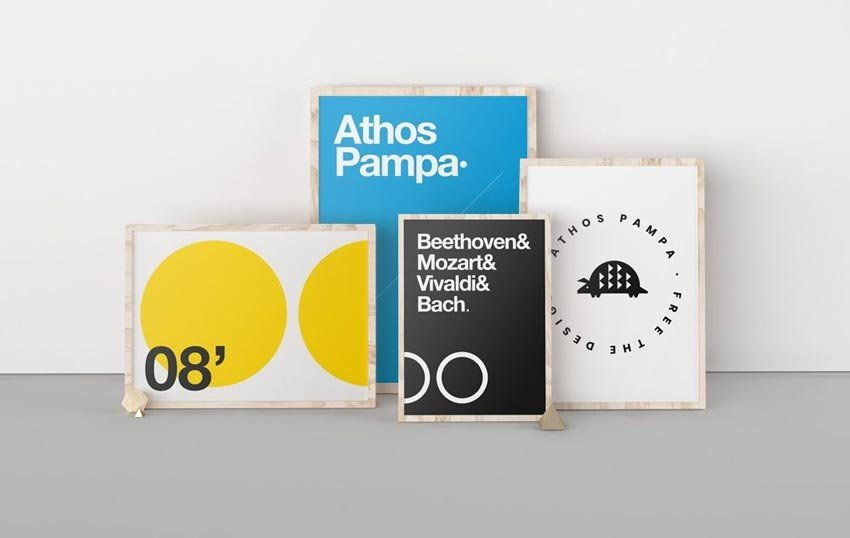 Poster Exhibition Mockup
