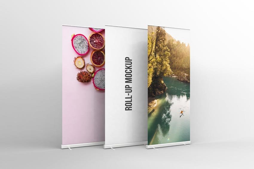 Rollup Mockup Template