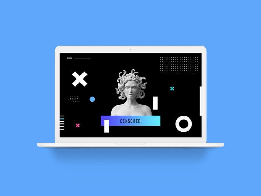 White Clay MacBook Pro Mockup