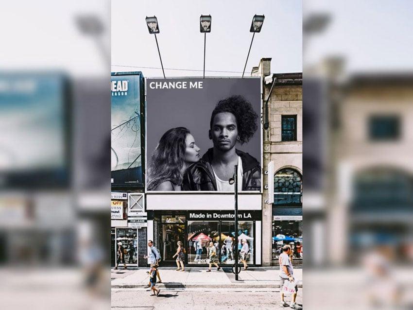 Downtown Billboard Mockup