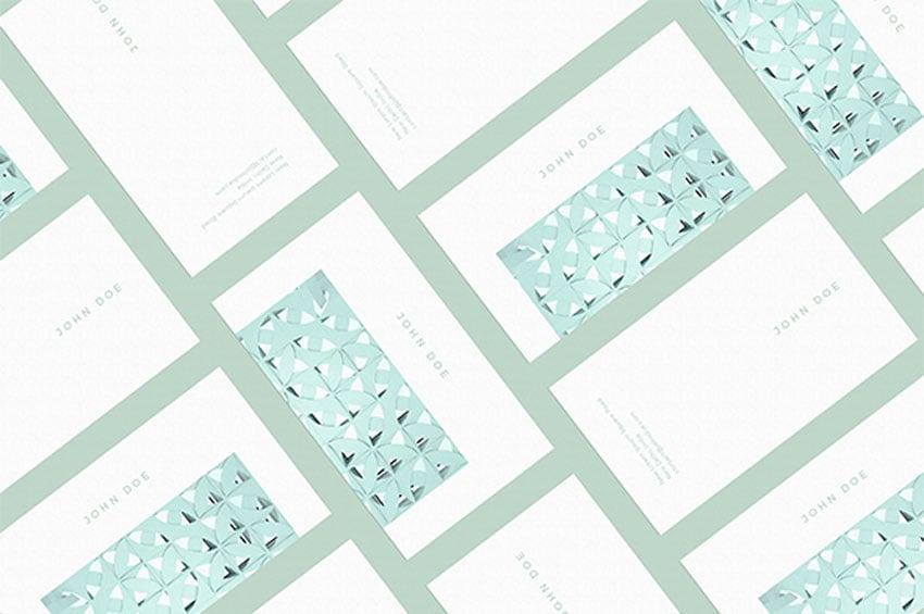 Modern Business Card Mockups