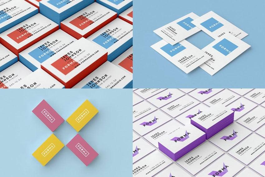 Business Cards Mockups Pack