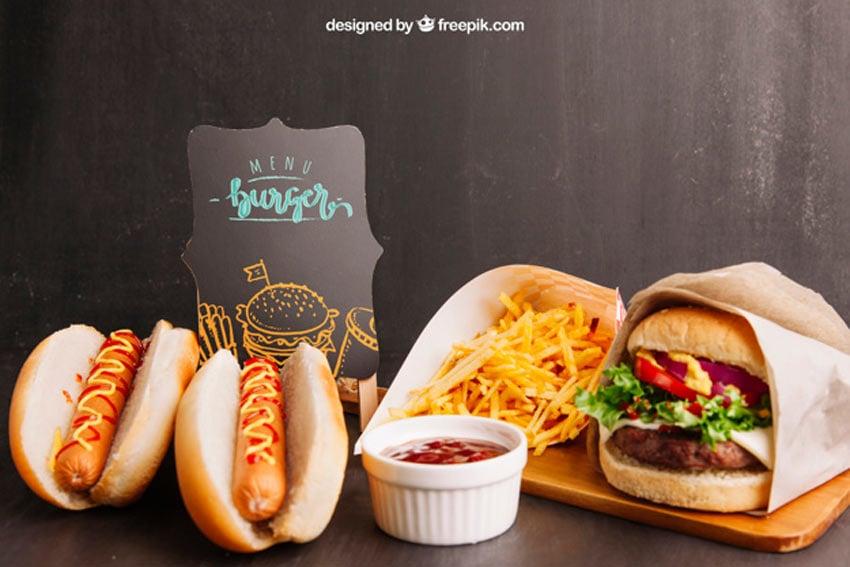 Fast Food Mockup