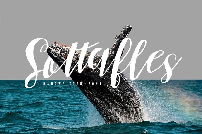 Sottafles Typeface