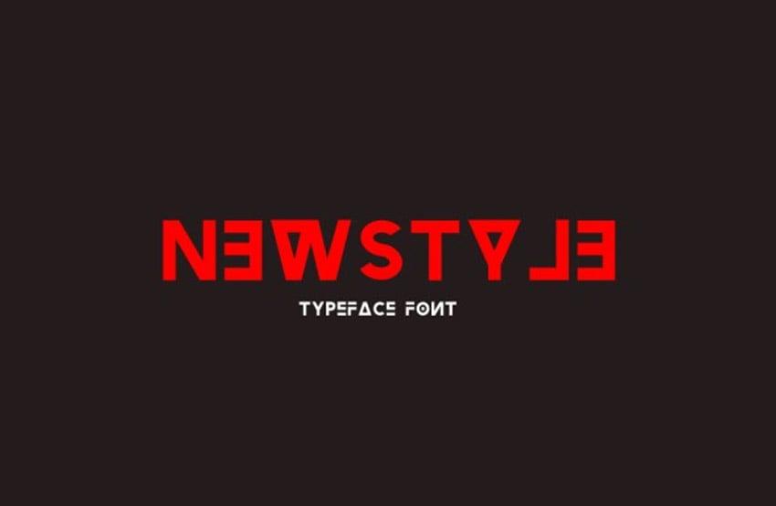 Newstyle Typeface Font