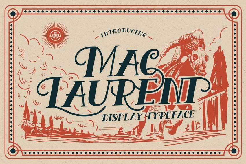 MacLaurent Font