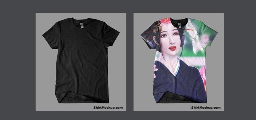 Full T-shirt Mockup