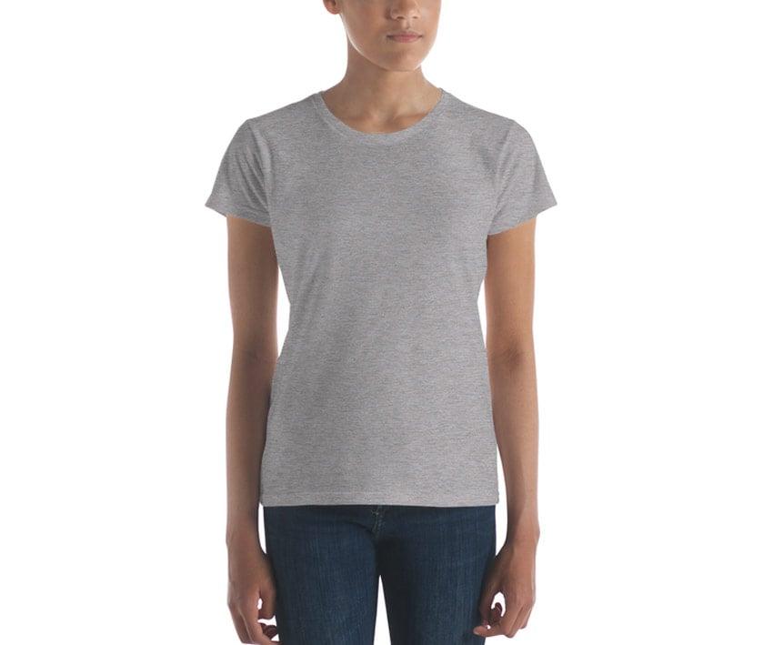 Womens T-shirt Mockup