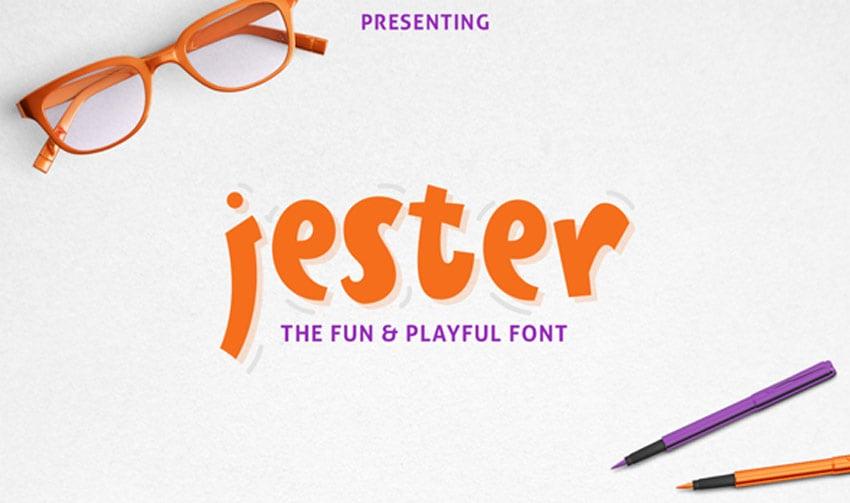 Jester Display Font