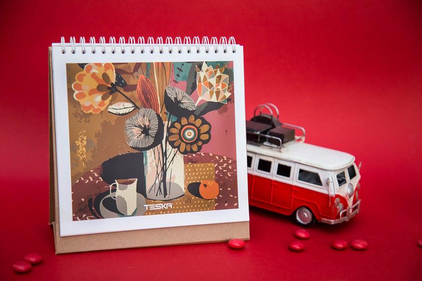 Cubism Calendar