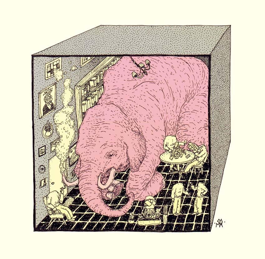 Elefante en la Habitacin