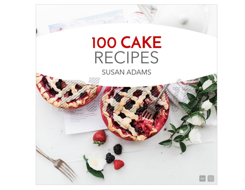 Cook Book and Recipe Book Cover Template