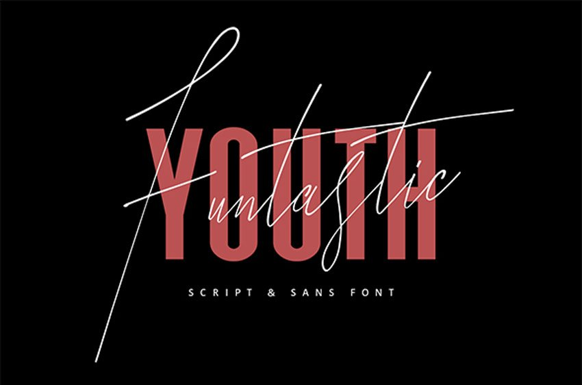 Funtastic Youth Typeface
