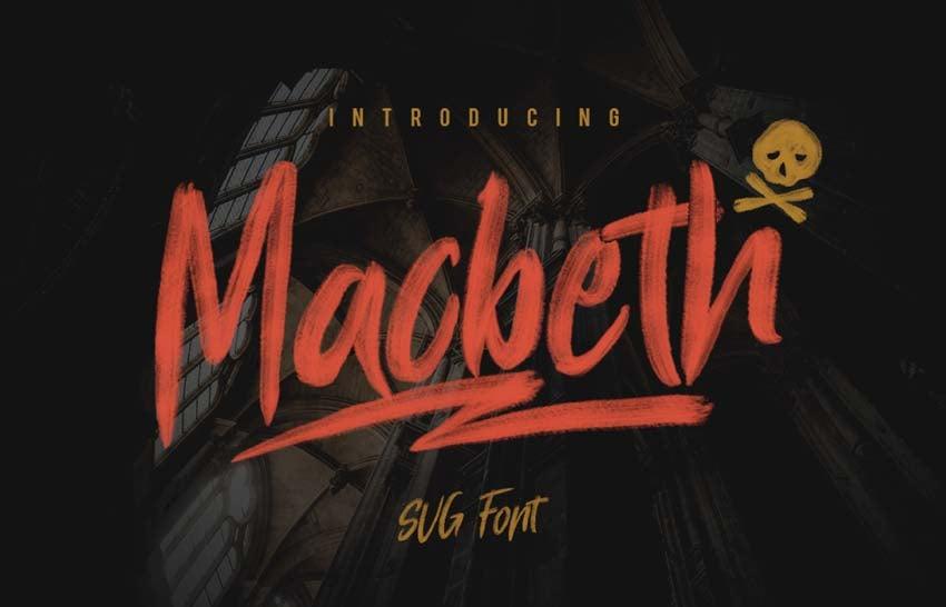 Macbeth Font