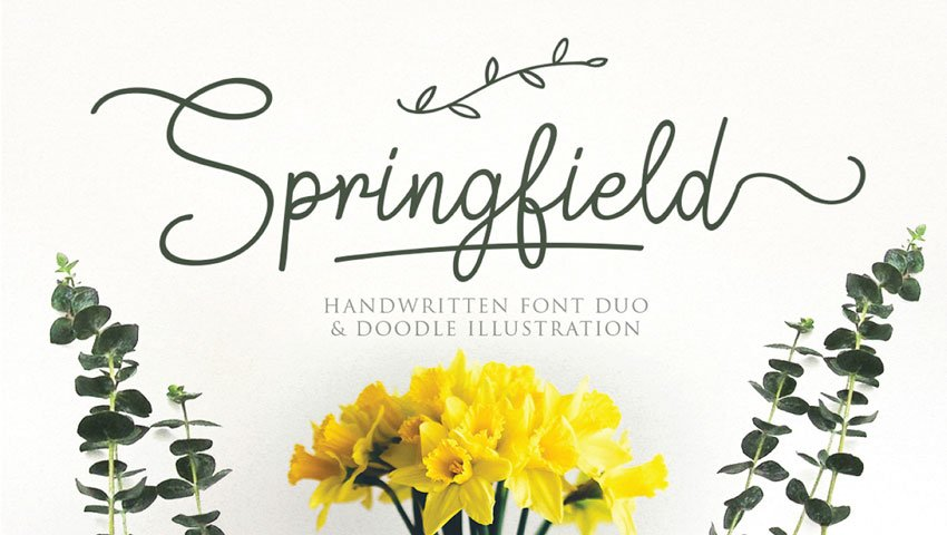 Springfield Font