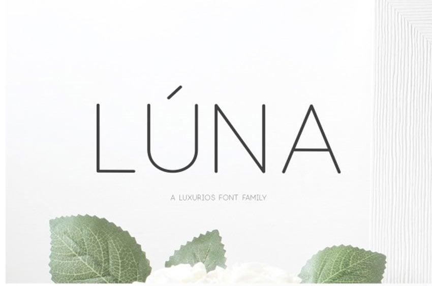 Luna Font Family